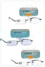 (3 PACK)  +3.00  Magnivision Alumineyes Rimless Reading Glasses MINOR BLEMISHES.