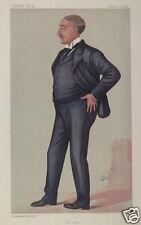 Cecil Rhodes from Vanity Fair 1891, 7x 4.5 inch Reprint