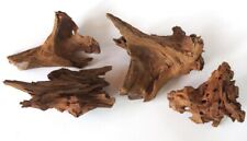 "New listing (4)Small Piece Malaysian Driftwood Planted Aquarium/Terrarium/Reptil e 7""-9"" #786"