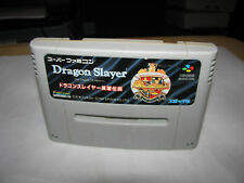 Dragon Slayer The Legend of Heroes Super Famicom SFC Japan import