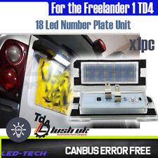 LED luz de matrícula posterior actualización SMD Licencia lámpara unidad Para Freelander 1 TD4