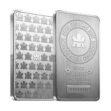 10 oz Royal Canadian Mint (RCM) .9999 Fine Silver Bar (Sealed)