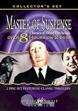 Alfred Hitchcock - Master of Suspense 2-Pack (DVD, 2005, 2-Disc Set)