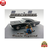 Musclemen Flamin Raymond Figure for 1:18 Scale Diecast Model by American Diorama