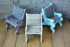 Wood doll high chair bjd barbie monster high momoko blythe obitsu doll furniture