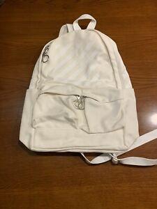 Off-white unused new Bag - white backpack