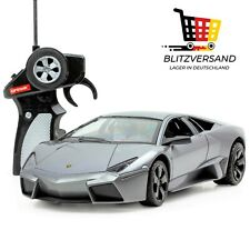orange 40Mhz Invento RC Lizenz Auto 1:43 2 Kanal Lamborghini Murcielago