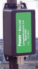 Magnetic BALUN UnUn 1:9, Langdrahtbalun 100 Watt PEP, Powerbalun, SSB, CW, neu