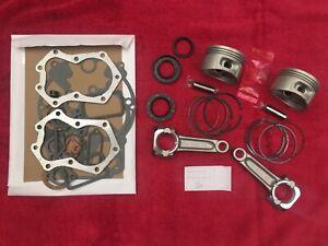 Kohler M18 engine rebuild kit, Gasket set, std piston, standard rods Magnum 18
