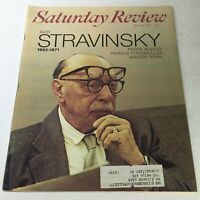 VTG Saturday Review: May 29 1971 - Igor Stravinsky 1882 - 1971