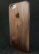 iPhone 6/6S Slim Walnut Wood Case Genuine Wood Hard Back✔️ Very Strong Cover✔️