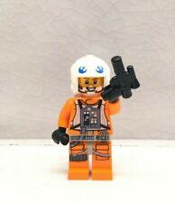 LEGO Star Wars E5 The Empire Strikes Back Minifig Rebel Pilot//Gunner Dak Ralter