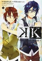TV Anime K Comic series manga: K -Lost Small World- vol.2 Japan Book