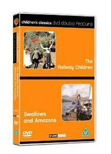 The Railway Children + Swallows And Amazons (DVD, 2003) 2 movies
