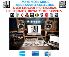 Plus de 1 Millions WAV Samples & Boucles Logic Pro Ableton fl studio cubase Protools