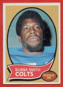 1970 Topps #114 Bubba Smith VG-VGEX+ MARKED Baltimore Colts ROOKIE RC FREE S/H