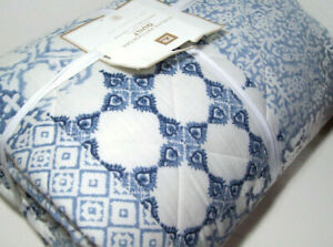 Pottery Barn Teen Evelyn Patchwork Printed Twin Quilt New