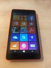 - Lumia 535 Microsoft 8GB-Arancione (Sbloccato) Smartphone