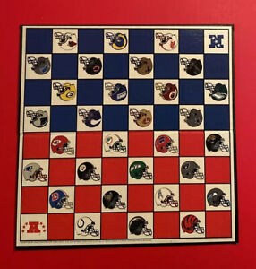 NFL Football Chess Checker Board Replacement Game Checkerboard NFC AFC