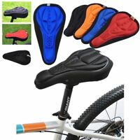 MTB Road Bicycle Gel Seat Cycling Saddle Cover Silicone Bike 3D Soft Pad Cushion