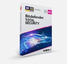 Bitdefender TOTAL Security 2020 5 dispositivi di 90 giorni 3 mesi Chiave Consegna Veloce