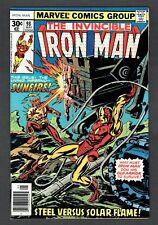 Invincible Iron Man #98 Vs. Sunfire Marvel Comics Bronze Age 1977 VF/NM Avengers