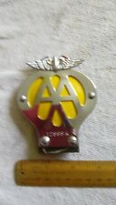Motorcycle Vintage AA badge. NEW. Never fitted.
