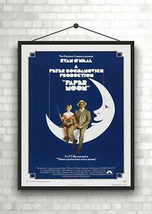 Paper Moon Vintage Classic Movie Poster Art Print A0 A1 A2 A3 A4 Maxi