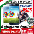 LCD TOUCH FRAME PER SAMSUNG GALAXY S4 I9505 DISPLAY SCHERMO+TELAIO! +PELL VETRO!