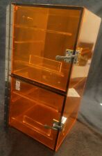 Terra Universal Amber Acrylic 2 Chambered Desiccator