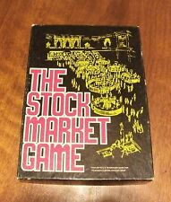 Vintage 1970 the stockmarket game complete Avalon hill game company #805