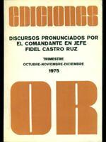 Ediciones Or October 1975 Aa.vv. Partido Communist Cuba 1975