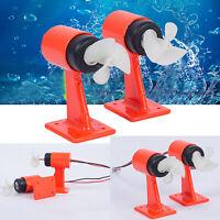 1* Underwater Thruster Motor 3 Blades Propeller For ROV Robot RC Bait Tug Boat
