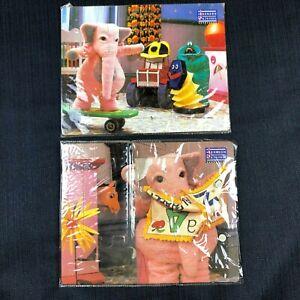 Vintage 1992 Johnson & Friends Puzzle Bundle x2 Rare