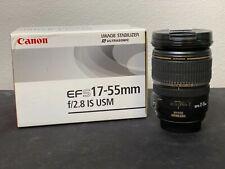 Canon EF 17-55mm f/2.8 AF-S IS USM Lente