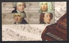 Ireland Eire - 2009 Classical Composers Minisheet, MNH