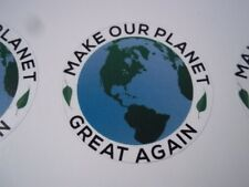 Make our Planet Great Again stickers (4).