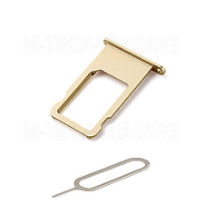 ! NEW REPLACEMENT FOR IPHONE 6S GOLD SIDE SIM TRAY SIM HOLDER PART