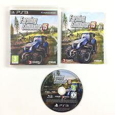 Farming Simulator 15 PS3 / Jeu Sur Playstation 3 (2015)