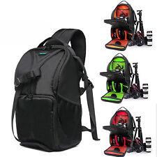 Waterproof DSLR Camera BackPack Laptop Shoulder Padded Bag For Cannon Nikon Sony