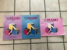 Bastien Piano Basics Level 1 Level 2 Primer Level