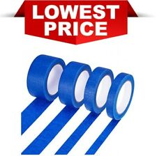 50M X 25MM-50MM BLUE PAINTERS DIY CRAFTS MASKING TAPE UV-RESISTANT CLEAN PEEL