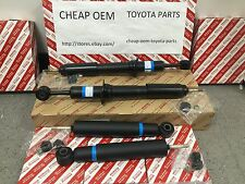 TOYOTA 4RUNNER 4WD 2003-2009 NEW GENUINE OEM FRONT AND REAR SHOCKS SET OF (4)