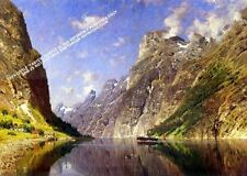 Fjord by Adelsteen Normann Artwork by Selby Prints