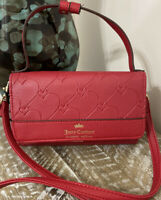 NEW! Juicy Couture Heart and Soul Convertible Crossbody Hanging Wallet MSRP $59!