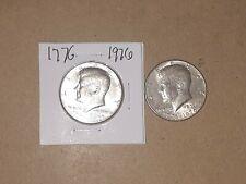 2 Kennedy Half Dollars