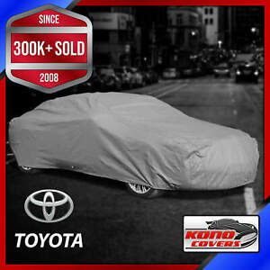TOYOTA [OUTDOOR] CAR COVER ✅All Weather ✅Waterproof ✅Full Body ✅CUSTOM ✅FIT