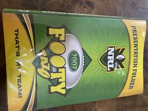 2007 NRL Complete Set Of Tazos And Album