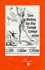 She's Working Her Way Through College 1952 • Ronald Reagan & Virginia Mayo • WB
