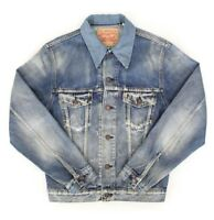 Levis Vintage Clothing LVC 1967 Type iii 3 Poptail Trucker Jacket S £245 New